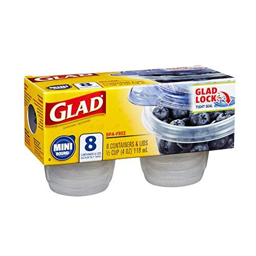 - GladWare Mini Round - 8 ct