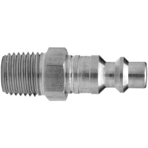 Dixon Valve & Coupling DCP1703 Steel Air Chief Industrial Interchange Air Fitting, Quick-Connect Plug, 1/2