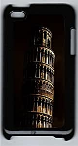 iPod 4 Case Leaning Tower PC Custom iPod 4 Case Cover Black