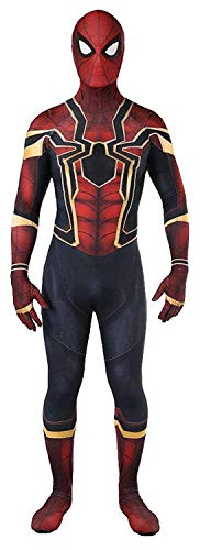 CANGPEN Unisex Spider-Man Suit Halloween Cosplay Costumes Adult/Kids 3D Style -