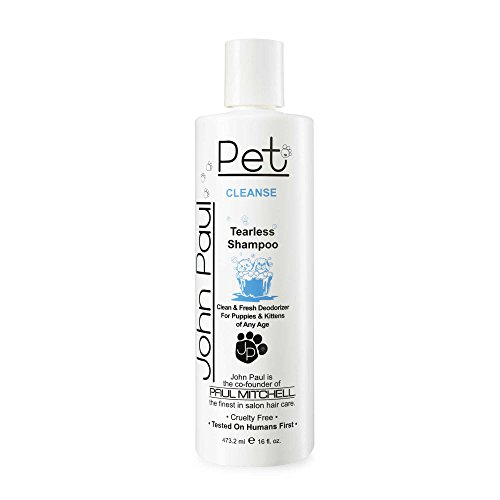 John Paul Pet 16 oz. Tearless Gentle Puppy and Kitten Shampoo (John Paul Pet Shampoo)