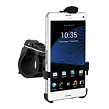 Bicycle mount for Sony Xperia Z3 Compact - keeps your mobile phone positioned securely!