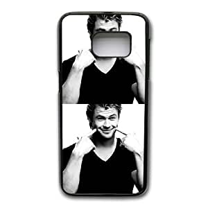 Custom made Case,Chris Hemsworth PC Plastic Cell Phone Case for Samsung Galaxy S7,Black Case With Screen Protector (Tempered Glass) Free S-6625174