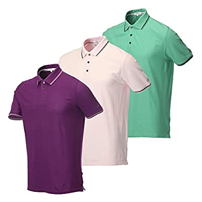 Calvin Klein Tipped Golf Polo Shirt