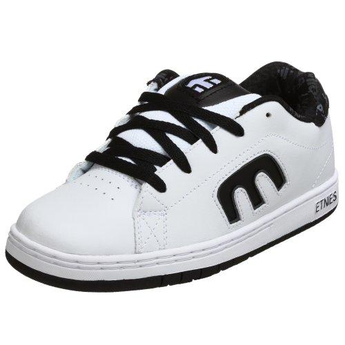 Etnies Little Kid/Big Kid Callicut Sneaker,White/Cool Grey,4 M US Big Kid