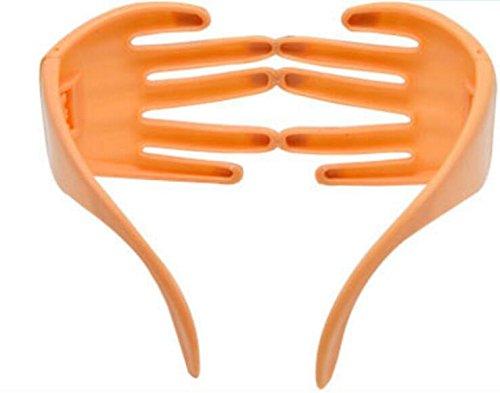 Color Piel Gafas Bola Oscuro Ojo de de Forma de de Dedos BNASA Máscara UaPqwnWvB