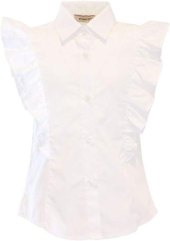 Pinko - Camisa con volantes para niña: Amazon.es: Ropa y accesorios