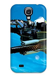 Galaxy High Quality Tpu Case/ Motorcycle Biker Jumping In Competition XKNDDFT1635FiAXh Case Cover For Galaxy S4