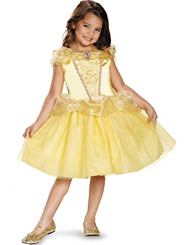 Costume Store In Las Vegas (Belle Classic Disney Princess Beauty & The Beast Costume, One Color,)