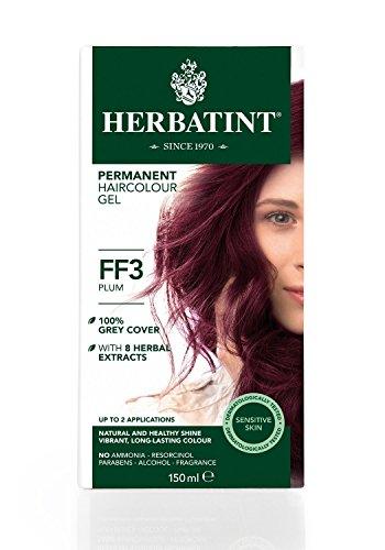 Herbatint Haircolor Kit Flash Fashion Plum FF3 -- 14 fl oz