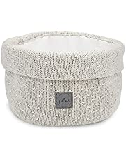 Jollein Luiertafel mand rond gebruiksvoorwerpen tas mand Bliss knit nougat