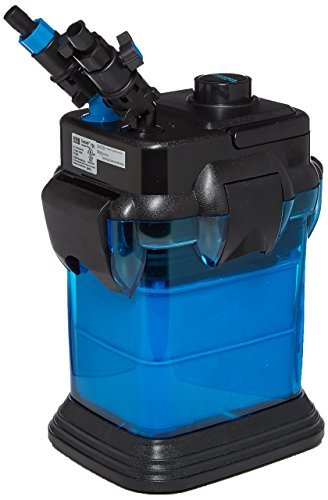Cascade CCF2UL Canister Filter For Large Aquariums and Fish Tanks - Up To 65 Gallons, Filters 185 GPH
