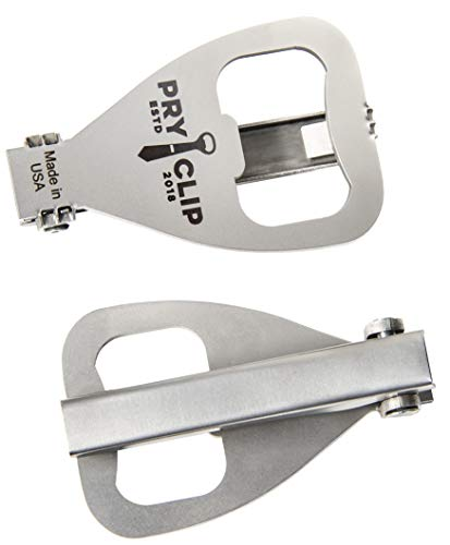 PRYCLIP - Tie Clip Bottle Opener, Laser Engraved, Gift Bag Included by PRYCLIP