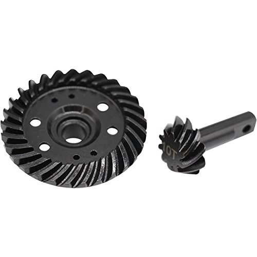 Hot Racing SRVO1029T Steel Helical Spiral Differential Ring/Pinion Gear Set (29t ()