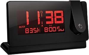 Oregon Scientific RMR391PA Slim Black Line Projection Clock