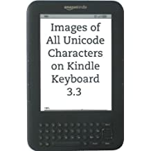 Images of All Unicode Characters on Kindle Keyboard 3.3