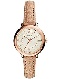Womens ES3802 Jacqueline Small Rose Gold-Tone Stainless Steel Watch