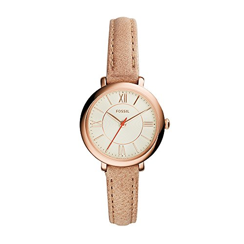 Fossil Women's ES3802 Jacqueline Small Rose Gold-Tone Stainless Steel Watch