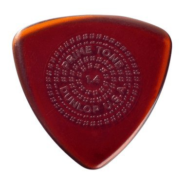 - Dunlop Primetone Triangle Sculpted Plectra with Grip 3-Pack 1.4 mm