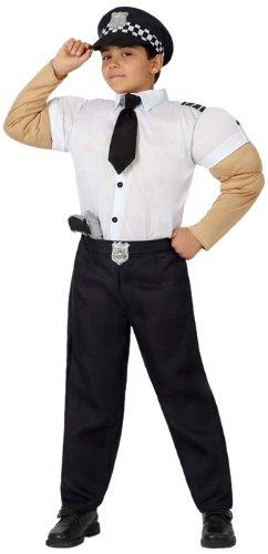 Atosa - Disfraz de policía para niño, talla 7-9 años (16026 ...