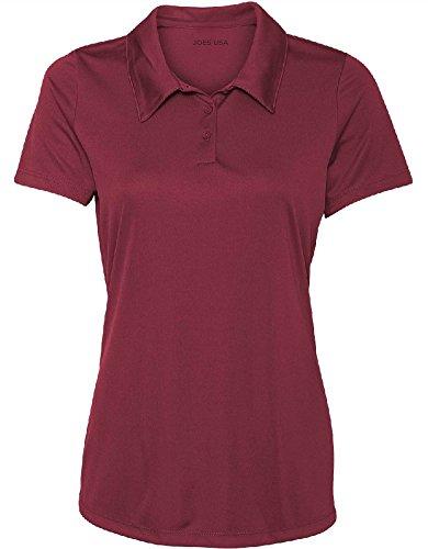 Women's Dri-Equip Golf Polo Shirts 3-Button Golf ()