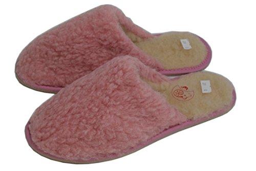 Zapatillas Mujer Wool Sheep's Estar Slippers Rosa Casa De 1870womens Por Lana Para Natleat wqtIEPZ