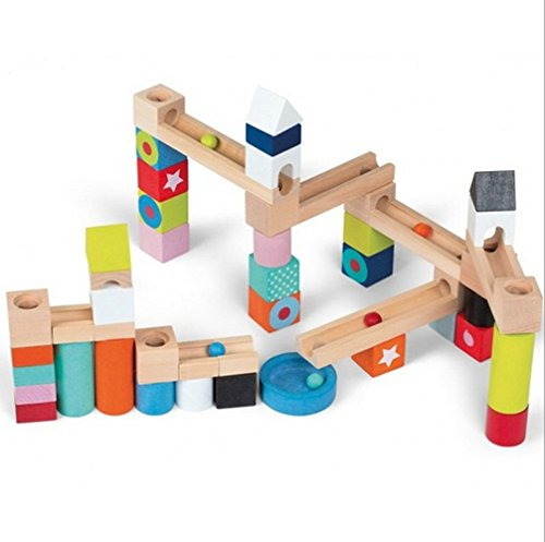 Leegor Building Blocks Early Childhood Children's Educational Toys Wooden Pole Geometry Shape Intellige Christmas Gift (Transformers Hood Ornament compare prices)