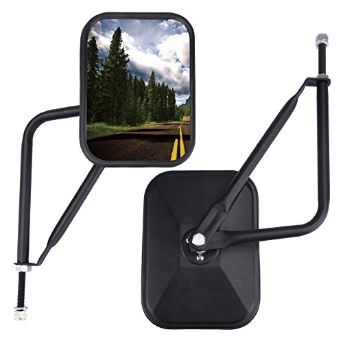 JUSTTOP Jeep Mirrors Doors Off, Side View Mirrors