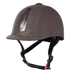 Horze 30048-G/SI-52-54 Triton Galaxy Helmet, Grey