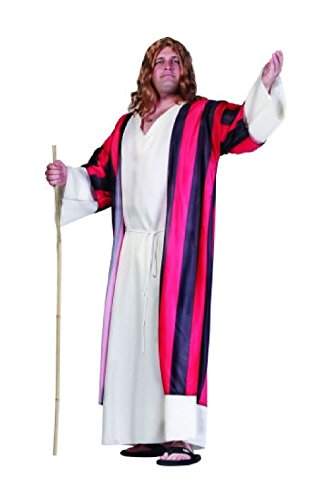 OvedcRay Moses Adult Costume Shepherd Religious Biblical Joseph Jesus Man Robe Plus Size