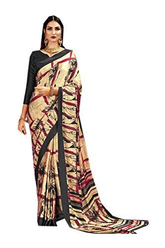Di Partito Le Donne Facioun Per Beige Sari Tradizionale 236 Indiani Progettista Sari Nozze Etnica Da Indossare cBfqTRW