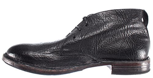 Desert Nero MOMA R1 Italy Pelle Vintage Boots Black New Uomo Ruga Scarpe 66704 qqwSUx
