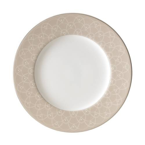 Waterford China Ballet Icing Mocha ACCENT SALAD PLATE, 9Ó
