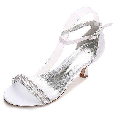 Zapatos Dos Zapatos Mujer Tobillo Pump mejor boda mujer regalo 5 de Tira Confort Básico y para Tacón madre Verano Tacón D'Orsay Satén Cono y Primavera el El us10 cn 5 uk8 en Piezas Kitten eu42 0B6qY