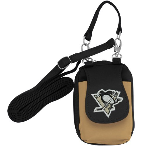 NHL Pittsburgh Penguins Women's Purse Plus with Touch Screen - Black/Gold