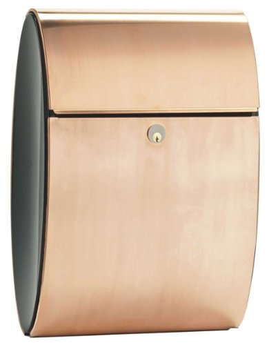 (Qualarc ALX-ELI-CP Allux Series Ellipse Locking Mailboxes, Copper)