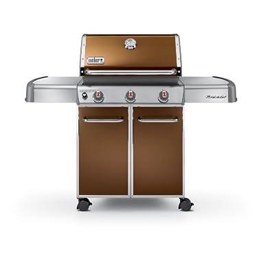 Weber Genesis 6512001 E-310 637-Square-Inch 38,000-BTU Liquid-Propane Gas Grill, Copper