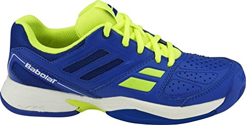 BABOLAT Pulsion All Court Schuhe Kinder, Blau/Gelb, 36