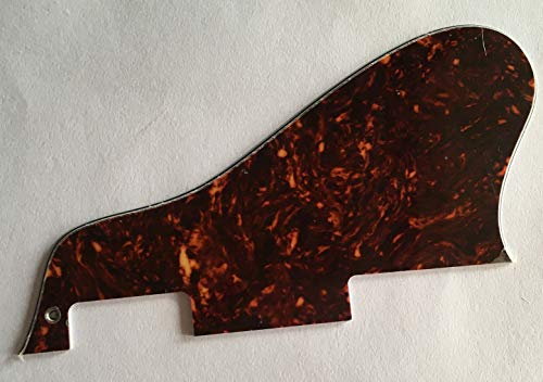 Custom For Gibson ES-335 Style Long Electric Guitar Pickguard (4 Ply Brown Tortoise) ()