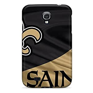 Samsung Galaxy S4 NxR17899uZfh Customized High Resolution New Orleans Saints Skin Scratch Resistant Cell-phone Hard Covers -LauraAdamicska