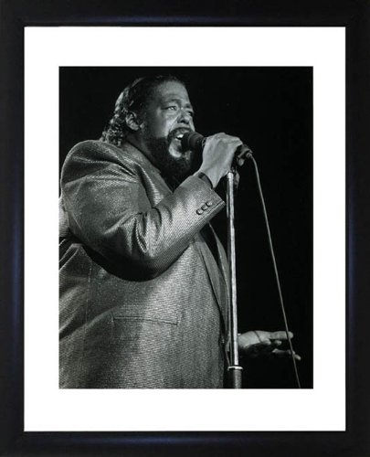 Barry White Framed Photo Picture Picture CP0030