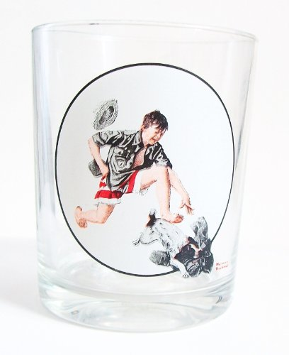 The Saturday Evening Post Norman Rockwell Glassware Collection - Stolen Clothes 1919 - Collectible (The Saturday Evening Post Norman Rockwell Glassware Collection)