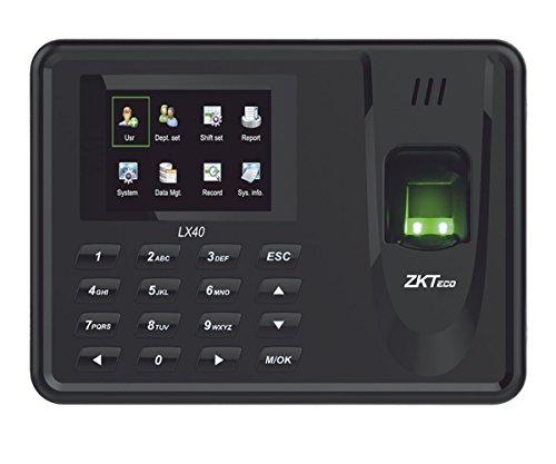 ZKTeco Lector de Huella con Teclado para Control de Asistencia LX 40Z