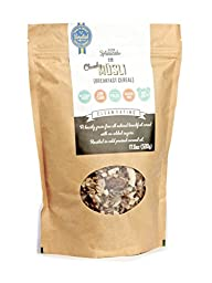 KZ Clean Eating - Swedish Breakfast Cereal - Low Carb Paleo - 500g (17.6oz) - Gluten free - No added sugar