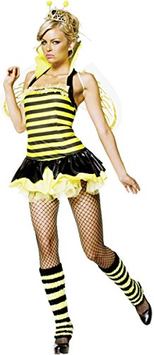 Queen Bumble Bee Adult Costume - (Queen Bee Costume Ideas)