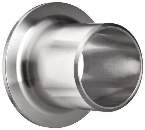 Stainless Steel 304/304L Butt-Weld Pipe Fitting, Type A MSS Stub End, Schedule 40, 3