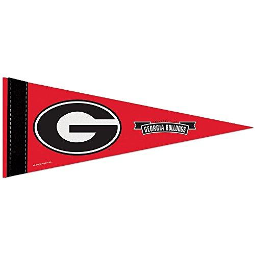 Georgia Bulldogs Official NCAA 10 inch x 4 inch Mini Pennant by Wincraft