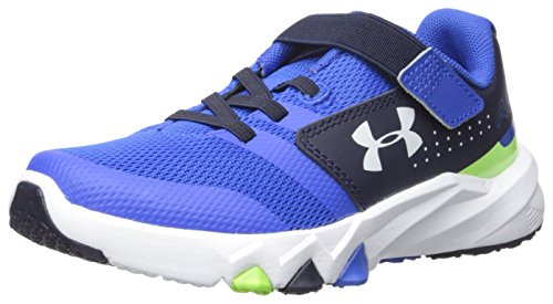 Image of Under Armour Kids' Boys' Pre School Primed Adjustable Closure Running Shoe