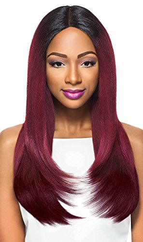 (Outre Synthetic Hair Lace Front Wig 4x4 Swiss Lace X Risa (DR30))