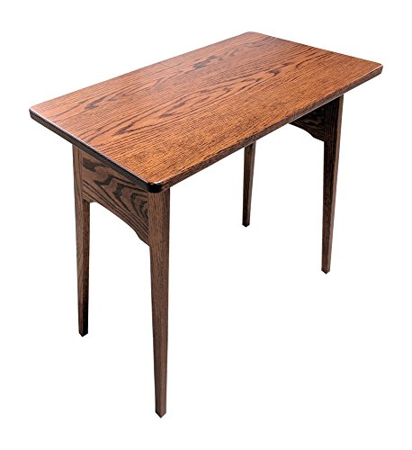 Weaver Craft Fireside Folding Table (Red Oak) by Weaver Craft